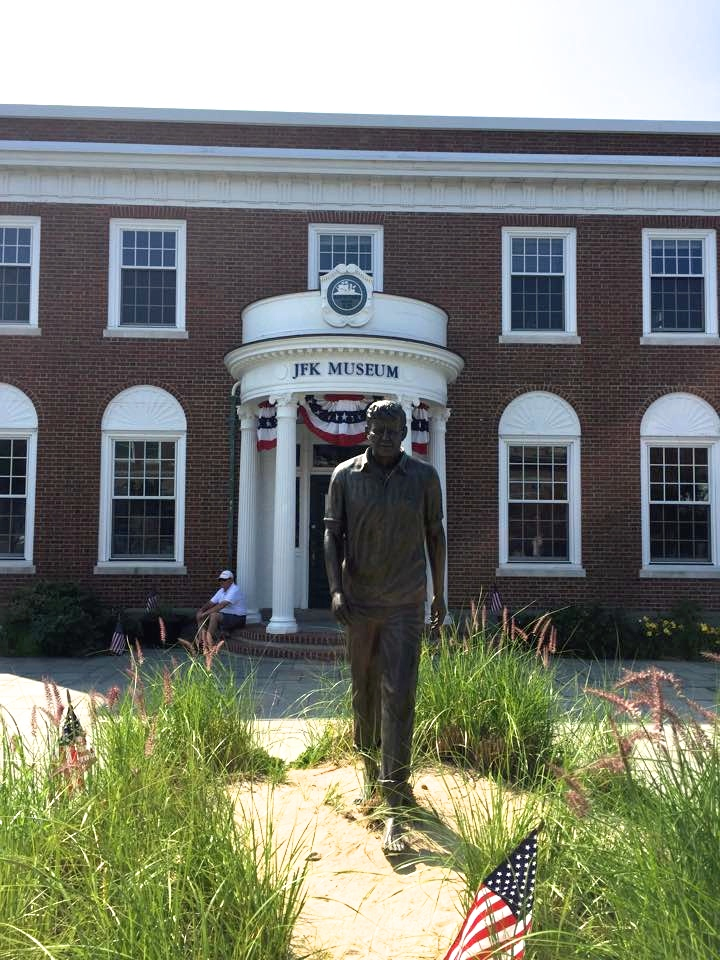 I didn't know there was a JFK Museum in Hyannis! I wish we could have stayed to tour it.