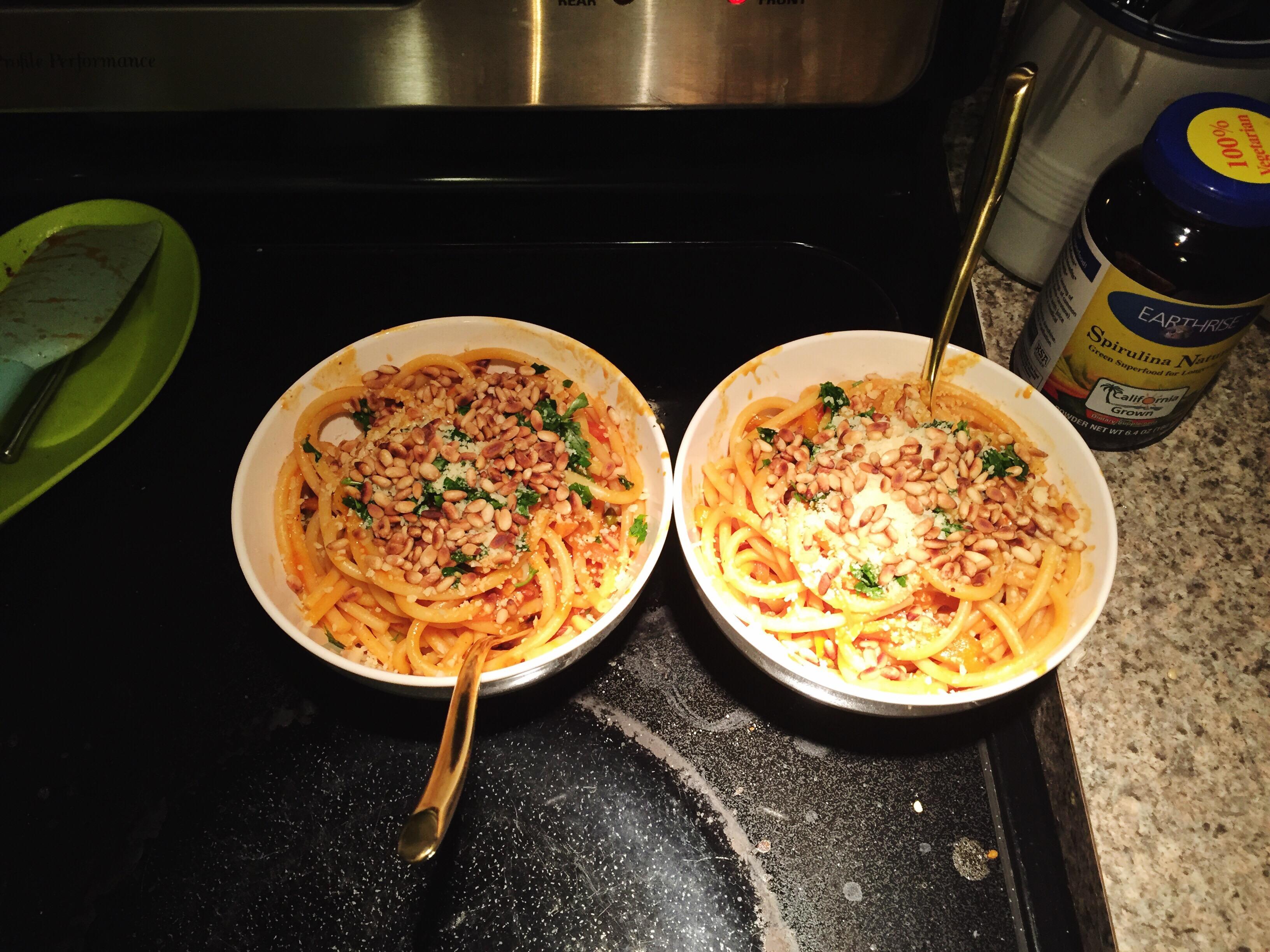 Blue apron udon noodles - Stats For Peperonata Pasta